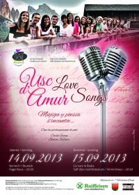 "Conzert ""Usc d'Amur - Love songs"""